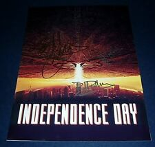 INDEPENDENCE DAY CAST PP SIGNED POSTER 12X8 WILL SMITH