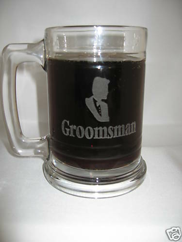 8 Personalized Glass Mugs & Free Shot Glass  Christmas Gifts Engraved