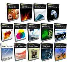 Bundle - 3D CAD Office Photo Editing Software -- Photoshop CS5 CS6 Compatible