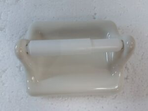 Beige-Ceramic-TP-Toilet-Paper-Holder-Biscuit-Vintage-Off-White-Classic-Color-346