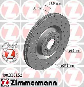 Promo-jeu-de-disques-perce-zimmermann-VW-GOLF-VI-6-1-2-TSI-63ch