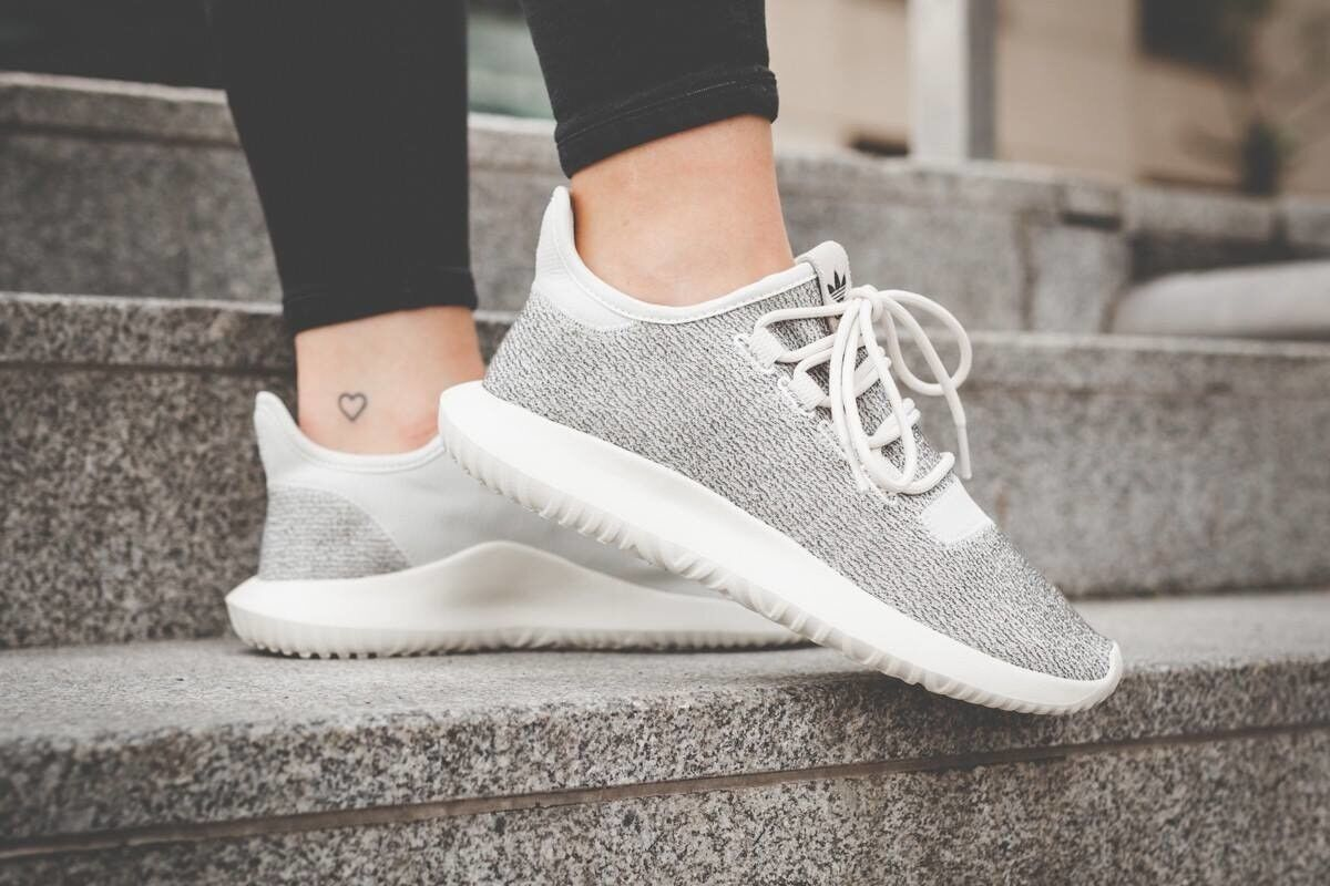 ADIDAS ORIGINALS TUBULAR SHADOW BY9739 SHOES  WHITE GREY KEVLAR 100% AUTHENTIC