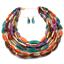 Fashion-Jewelry-Crystal-Choker-Chunky-Statement-Bib-Pendant-Women-Necklace-Chain miniature 18