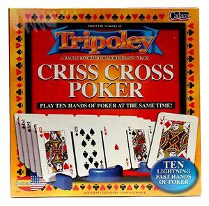 8053a92df4e93 Tripoley Criss Cross Poker Game Cadaco 2005 NEW Factory SEALED ...