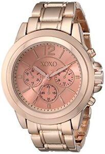 P10-Auction-XOXO-Women-039-s-XO5591-Rose-Gold-Tone-Bracelet-Watch