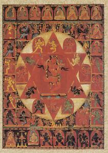 tantrische Gottheit Postcard Art Vajravarahi Kunstkarte