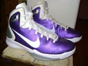 b90ca116fc3c NIKE Hyperdunk PE PROMO SAMPLE 2010 407627 500 Purple Sneakers Shoes ...