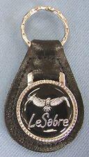 Black Buick LESABRE Eagle Leather Keyring 1978 1979 1980 1981 1982 1983 1984