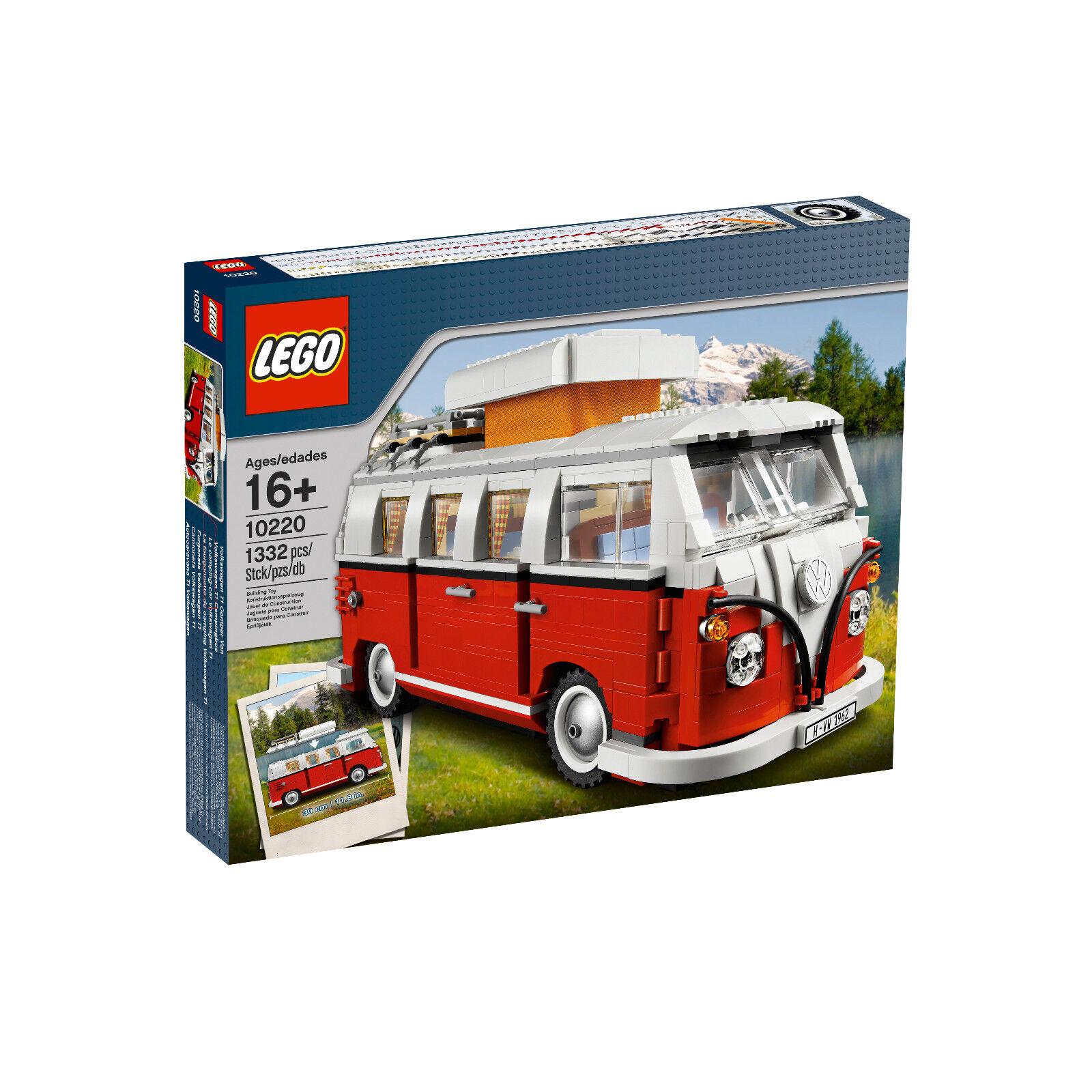 Original volkswagen LEGO t1 camionnette 211099320 bl9 consomme 10220 Creator Creator Creator Camper e6522a