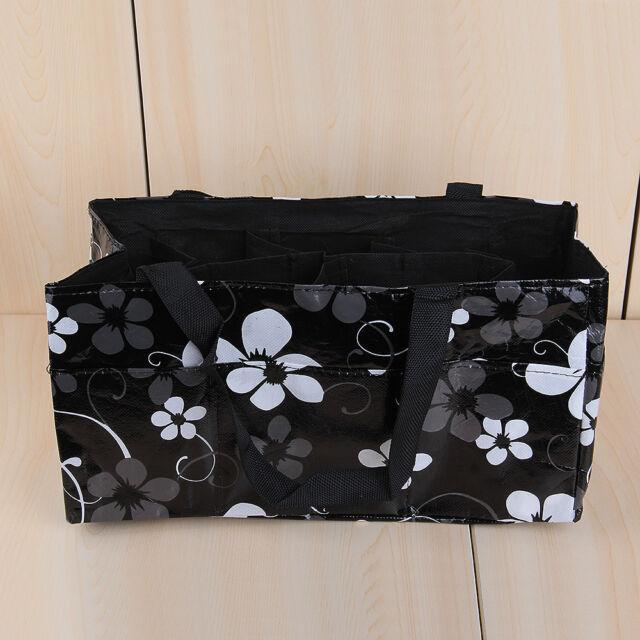 Baby Changing Diaper Nappy Organizer Tote Bag Mummy Handbag Waterproof Black