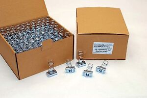 100-Strut-Channel-Nuts-1-2-13-Standard-Spring-Zinc-Plated-Unistrut-Nut