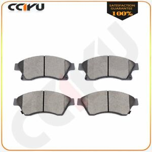 Fits 2011 2012 2013 2014 2015 2016 Chevy Cruze Front Ceramic Brake Disc Pads Set