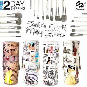 9 PCs Makeup Brushes Set Kit Foundation Lip Brush Powder Eyeshadow Lip Brush