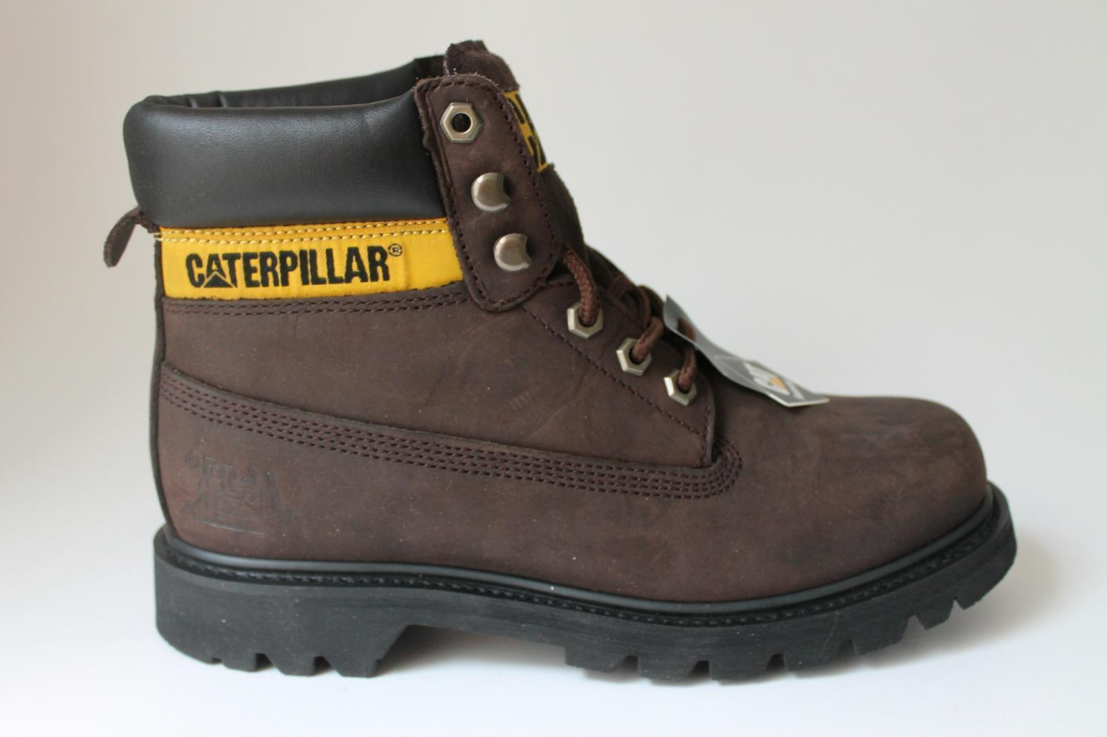 Caterpiller Colorado CIOCCOLATO WC34100950 Lavoro da Uomo 6 Pollici Stivali Alla Caviglia CAT