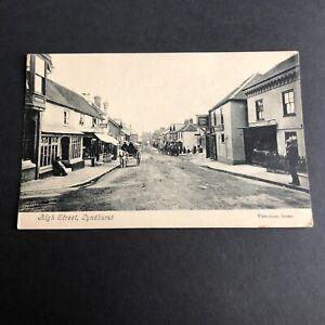 Postcard, High Street, Lyndhurst, Hampshire
