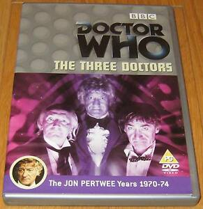 Doctor-Who-DVD-The-Three-Doctors-Excellent-Condition