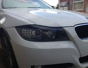 09 11 Bmw E90 3 Series 328i 335i M3 Headlight Eyelid Black