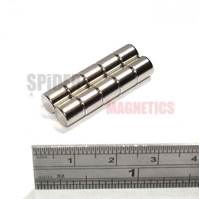 Ni plated magnetic steel shaft 20 mm x 460 mm