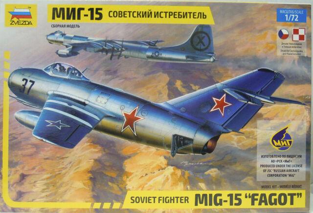 "MiG-15 "" Fagot "", Zvesda, 1:72, Neuf"