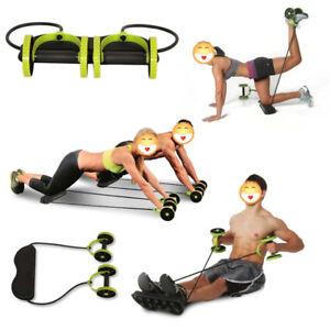 Doble-Rueda-Abdominal-Power-musculo-Casa-Equipo-de-Ejercicio-Fitness-equipo-LK