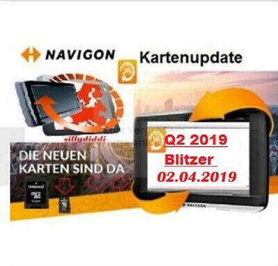 Bellissimo 8 Gb 4310 Max Carte Update Navigon Europa Turr Q2 2019 2/4/19 Blitzer- Prezzo Più Conveniente Dal Nostro Sito