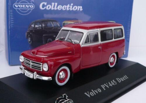 red//white wonderful ATLAS-modelcar VOLVO PV445 DUETT 1956 1//43