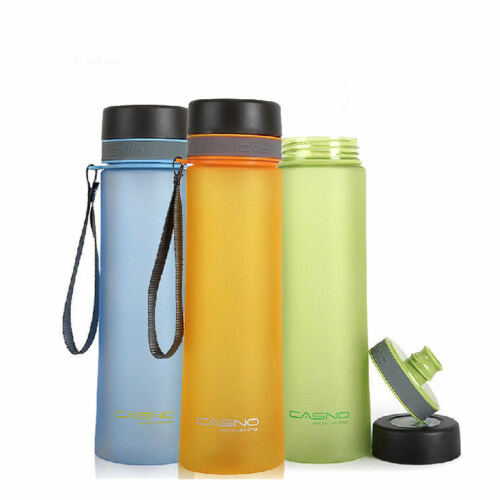 Sport Water Bottle Collapsible Unbreakable Silicone For Running Yoga Camping