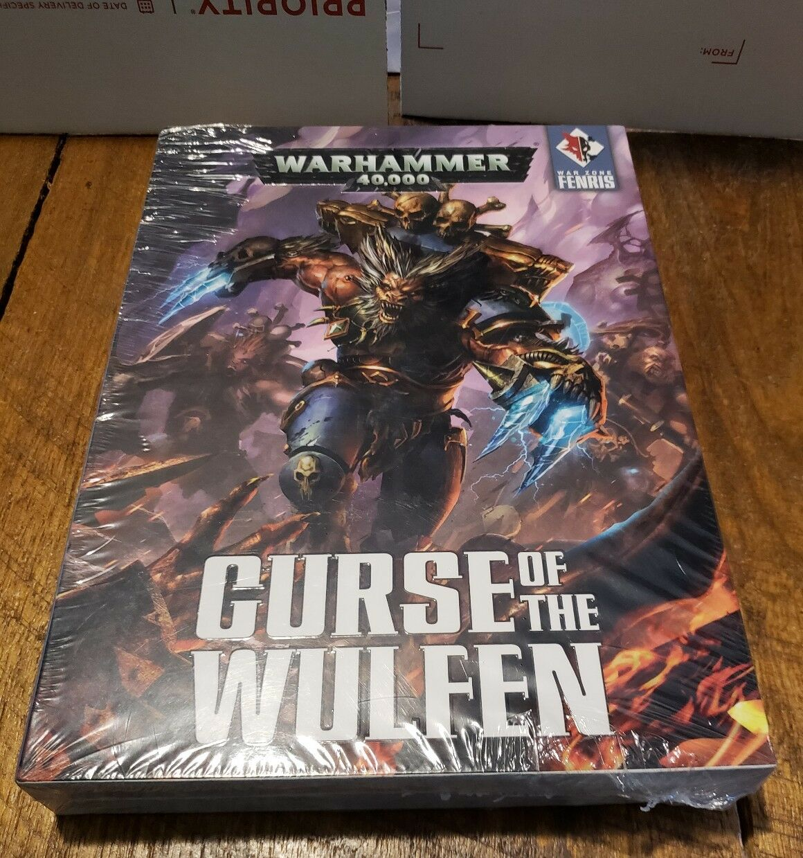 GW Warhammer 40K  War Zone Fenris - Curse of the Wulfen Two libro Set HC Sealed  negozio online