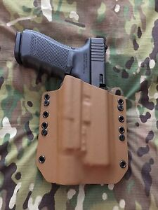 Coyote Tan Kydex Holster for Glock 20 21 Surefire X300 Ultra