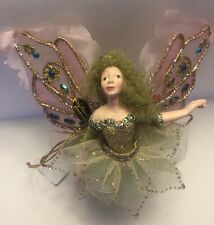 Katherine's Collection Retired Fairy Butterfly Ornament NOS