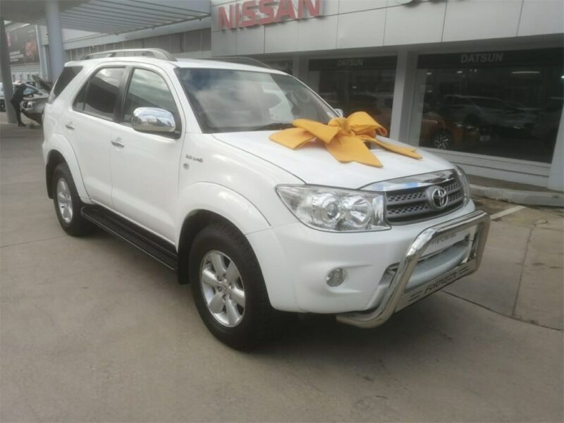 2010 Toyota Fortuner 3.0 D-4D R/Body, White with 106000km available now!