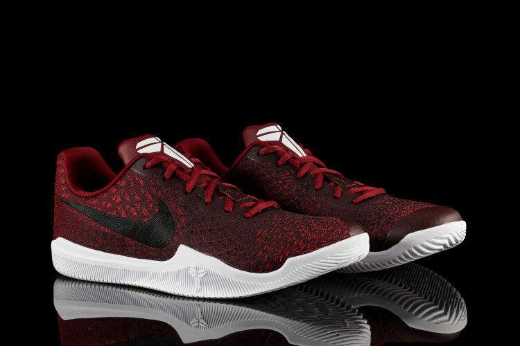 best-selling model of the brand Nike Kobe Mamba Instinct Sneakers New, Team Red / Black Snakeskin 852473-600