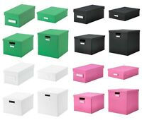 IKEA TJENA Schachtel Aufbewahrung Box Verstauen Aufräumen - passt für Kallax