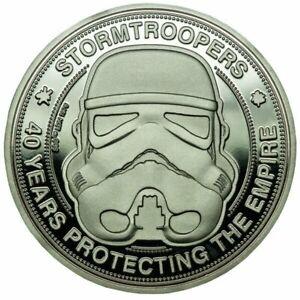 Original-Stormtrooper-Sammelmuenze-40-Years-Protecting-The-Empire-FaNaTtik