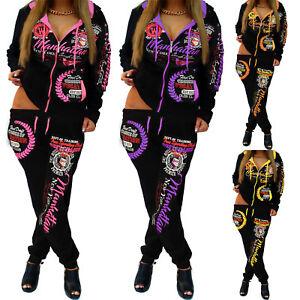 Femmes Jogging Costume Jogging Veste Pantalon Sport Costume Short Fitness Neon xxs-5xl-afficher le titre d`origine bssraiJ4-07145002-434591866