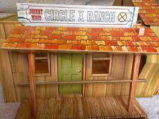 Johnny West Circle X Ranch Play Set Vintage Marx