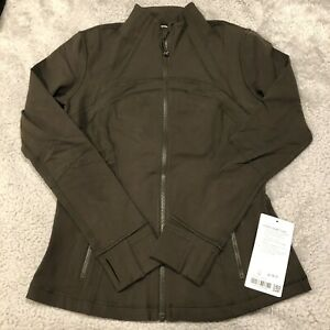 Lululemon-Define-Jacket-Size-10-Dark-Olive
