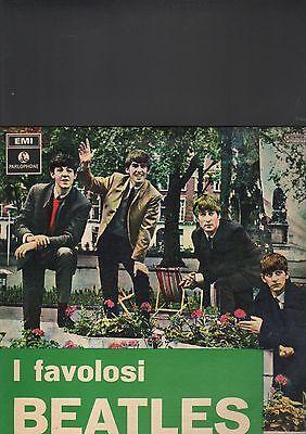 BEATLES - i favolosi beatles LP italy press