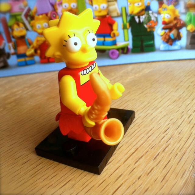LEGO 71005 THE SIMPSONS Minifigures LISA SIMPSON #4 SEALED Minifigs Series 1 SAX