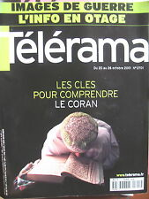 2701 LE CORAN SAID BAHIJ H STORY BEATRICE DALLE GUERRE INFO INTOX TELERAMA 2001