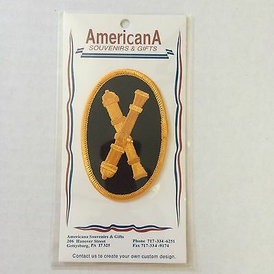UNION ARMY OFFICER US CAVALRY Civil War CROSSED SABER Embossed Sew On PATCH New