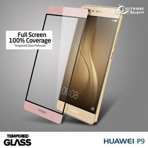 Rose-Gold-3D-FULL-Coverage-Tempered-Glass-Screen-Protector-Guard-For-Huawei-P9