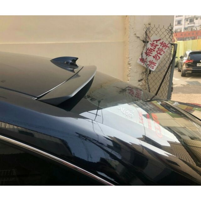 Flat Black 818 DRS Rear Roof Spoiler Wing For 2009~14