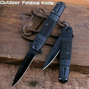 Outdoor Camping Pocket Knife Stainless Steel Folding Knife Sharp Tactical Knife