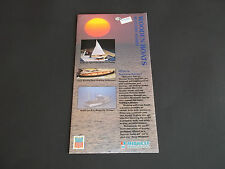 VINTAGE MIDWEST PRODUCTS WOODEN BOATS SUCCESS SERIES BROCHURE *EX-COND*