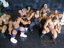"WWE WWF 14"" FIGURES X8  HULK HOGAN UNDERTAKER AND MORE"