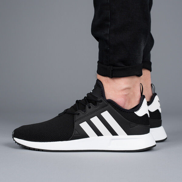 adidas X PLR Mens Trainers Black White Shoes 9 UK for sale online  5b787e178