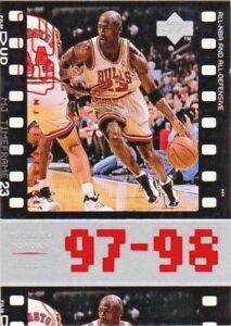 3ce2431d7fed9d 1998 upper deck jordan living legend mj timeframe card  119 ...