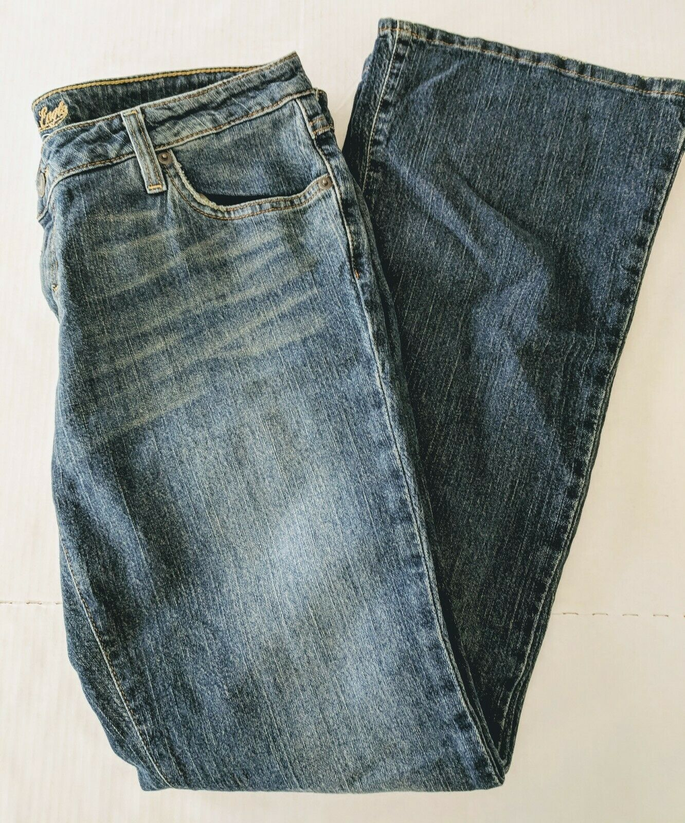 NWT Jeans Womens 12R American Eagle Outfitters Stretch Boot Cut Denim
