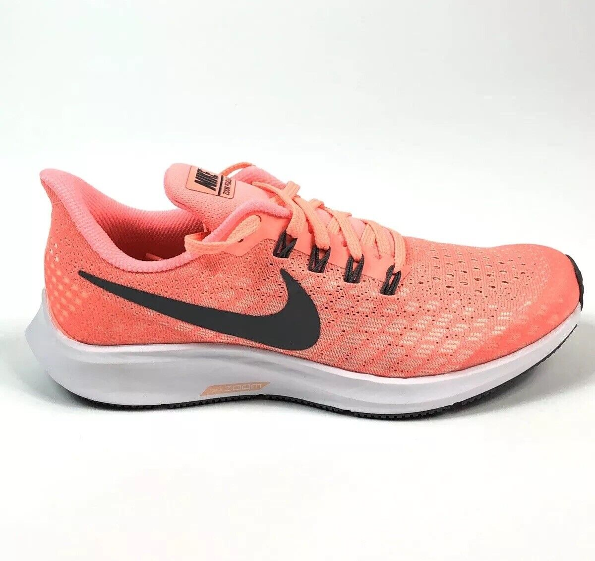 NIKE Air Zoom Pegasus 35 GS AH3481 800 CRIMSON PULSE SIze 6Y Kids Girls Women